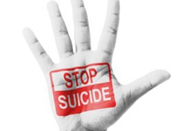 Open Hand Raised, Stop Suicide